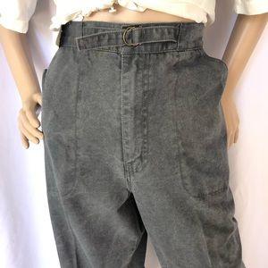 VINTAGE | Workwear canvas pull on pants